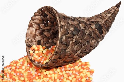 Cornucopia & Candy Corn