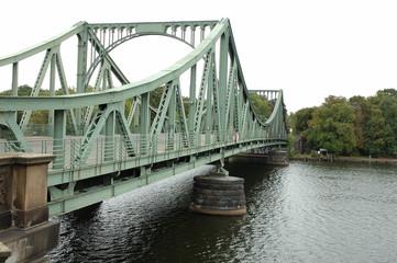 Glienicker bridge in Potsdam