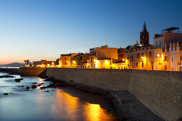Sunset over Alghero