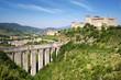 Aqueduct in Spoleto, Ponte delle Torri  Umbria, Italy - 57814786