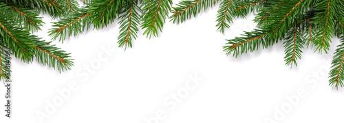 Tuinposter Textures Christmas frame
