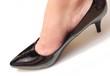 piede nella scarpa