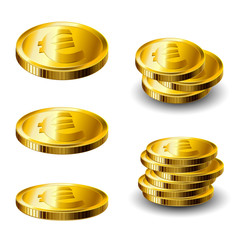 Gold coin set