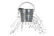 canvas print picture - bucket with holes