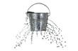 Leinwandbild Motiv bucket with holes