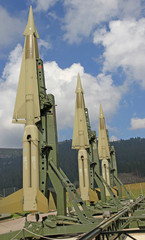 green military intercontinental missiles ready for launch