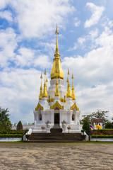 golden stupa in thailand