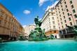 Donnerbrunnen fountain in Austrian capital
