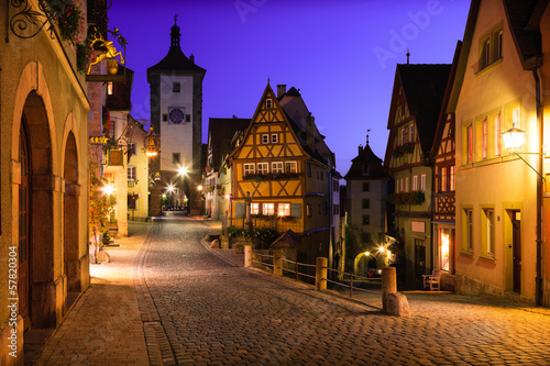 Rothenburg ob der Tauber, Germania