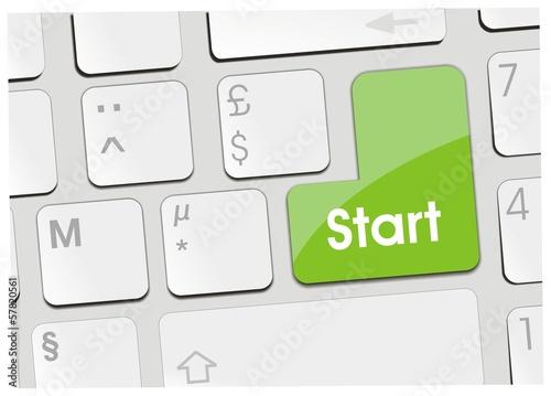 clavier start