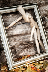 woman - vanity - money