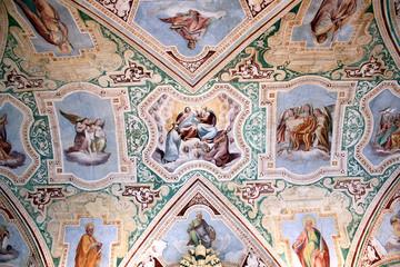 Rom, San Giovanni in Laterano, Deckenfresken in der Loggia