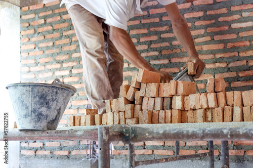 Brick laying