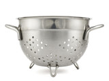 Steel strainer sieve metal bowl