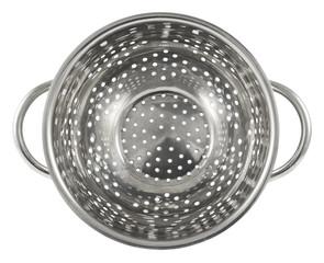Steel strainer sieve metal bowl