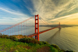 Golden Gate Bridge at sunset - 57823951