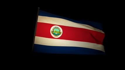 Flag Costa Rica 01