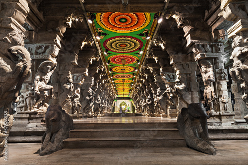 Inside of Meenakshi Temple