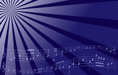 violet vector music background