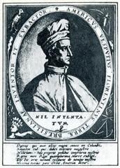 Italian explorer Amerigo Vespucci (Crispijn van de Passe)