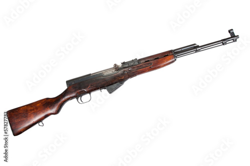 Soviet semi-automatic carbine SKS