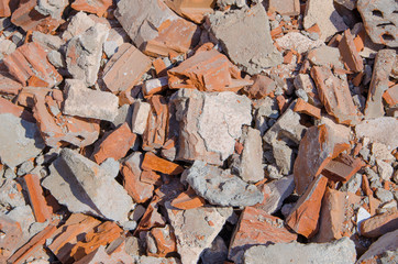 Brick texture from demolation