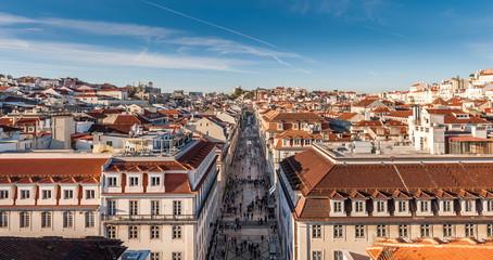 Rue Augusta à Lisbonne