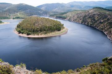 Meandro del río Alagón, Extremadura (España)
