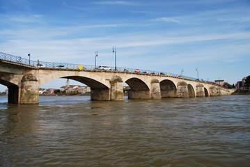 Pont de Mâcon sur la Saône