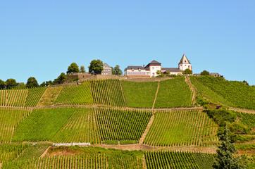 Pündericher Marienburg Mosel bei Pünderich Rheinland Pfalz