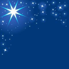 Sternenhimmel, Illustration, Nacht, Sternenstaub