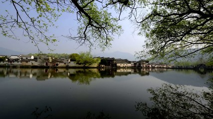 Beautiful scene in Hongcun,Anhui,China