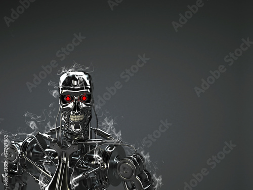 robot background