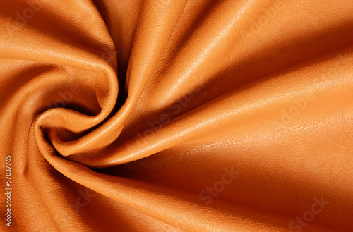 Draped leather for background