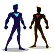 Super Hero Sillhouette