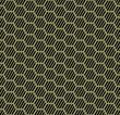 Seamless hexagons texture. Honeycomb repeatable pattern.
