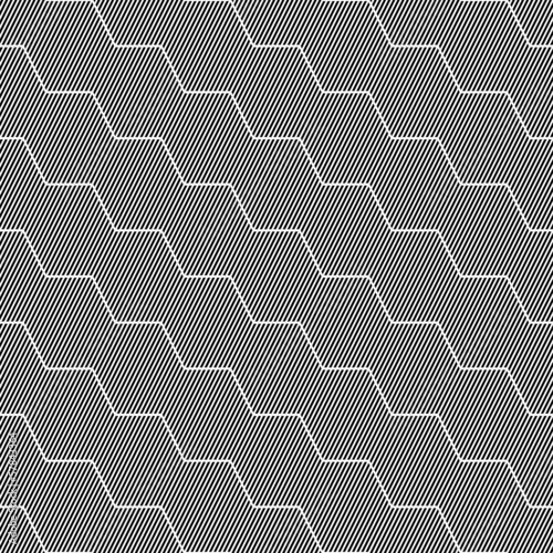 Seamless striped texture with zigzag pattern.