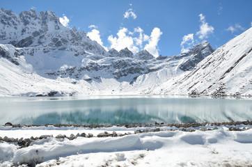Непал, Гималаи, озеро Гокио