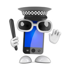 Officer smartphone