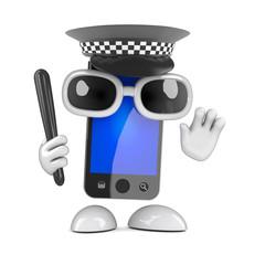 Officer smartphone