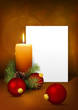 Weihnachten, Stillleben, Weihnachtskarte, Vorlage, besinnlich