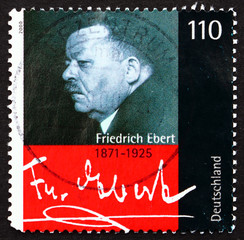Postage stamp Germany 2000 Friedrich Ebert, President of Germany
