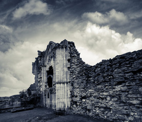 chapel remains