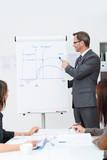 mann hält vortrag zum projektmanagement