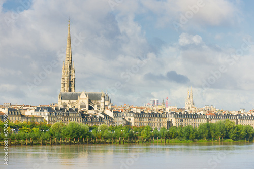 Bordeaux at a summer day
