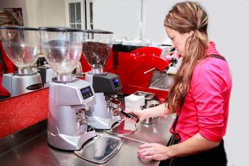 cappuccino making