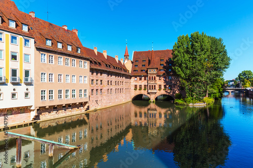 Scenery of Nuremberg, Germany