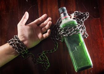 Alcohol slave, alcoholism