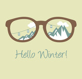 Hello Winter poster