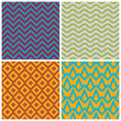 Retro pattern set